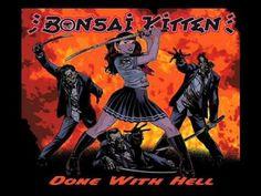 Mitternacht vorbei, Zeit die dunkle Seite rauszulassen: Now plaiyng: Bonsai Kitten - Dont mess with me