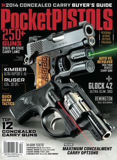 The POCKET PISTOLS SPRING 2014 magazine is on newsstands...
