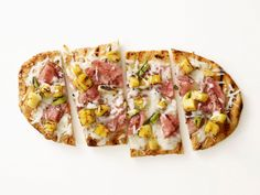Grilled Hawaiian Pizza Recipe : Food Network Kitchen : Food Network - FoodNetwork.com
