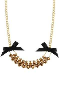 Beads & Bows Necklace.