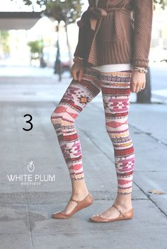 Cute Print Leggings $10.99