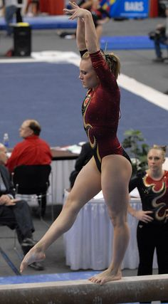 National Gymnastics Team Finals - University of Utah, women's, college gymnast #Kythoni colleg gymnast