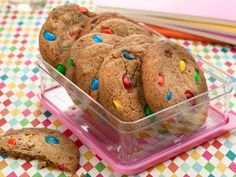 Recipe of the Day: The Pioneer Woman's Slice-and-Bake Cookies            Make a batch of Ree's candy-studded cookies today, then keep the rest of the dough in the freezer for when you want a quick-fix dessert.           #RecipeOfTheDay