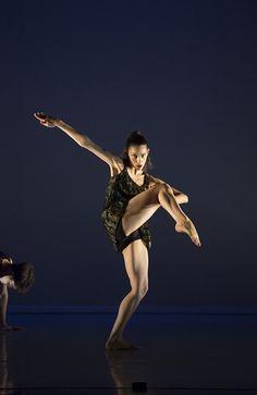 Code. Choreography - Sharron Watson. Dancer - Evita Pitara. Photo - Bill Cooper. by Central School of Ballet, via Flickr
