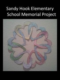 This project focuses on love rather than loss.  You can use it to help kids cope with this tragedy or to instill a lesson on showing kindess to others.  Sandy Hook, you are in our thoughts and prayers!