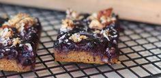 PaleOMG – Paleo Recipes – Blueberry Pumpkin Muffin Breakfast Bars