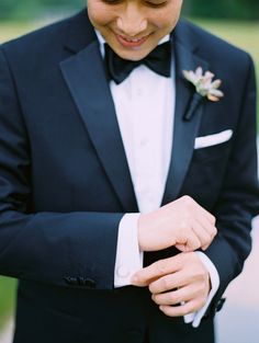 Love the look of a classic black tux. @ My Glass Slipper