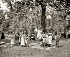 "Detroit circa 1905. ""Children's Day, Belle Isle Park.""  | Shorpy Historical Photo Archive"