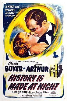History Is Made At Night (1937) Jean Arthur, Charles Boyer
