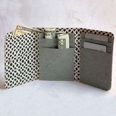 Wallet Made From Pap