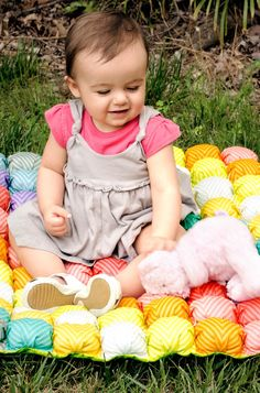A Baby Bubble Mat is super fun for your little one this summer! babi bubbl, bubbl mat