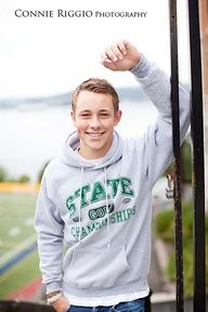 senior guy poses - Google Search - nice if he knows where he's going to college