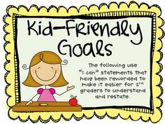 Cute 2nd grade common core standards posters!