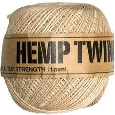 hemp twine 1mm