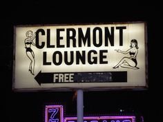 Clermont Lounge - Blondie's joint