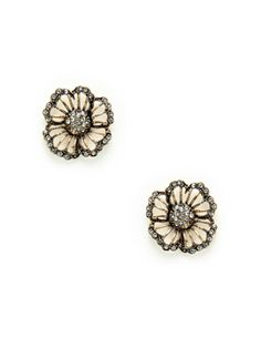 Cutout Flower Stud Earrings from Intricate Jewelry Feat. Azaara Vintage on Gilt