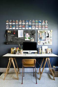 desk space + display