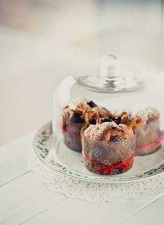 lovely dome for lovely cupcakes....