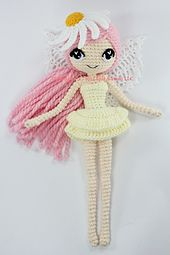 Ravelry: Althaena the Summer Fairy Amigurumi Doll pattern by Epic Kawaii