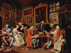 William Hogarth, Kontrakt małżeński