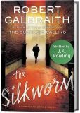 The Silkworm by Robert Galbraith - When Owen Quine goes missing, his wife calls in detective Strike. At first, she just thinks her husband has gone off by himself for a few days. But as Strike investigates, it becomes clear that there is more to Quine's disappearance than she realizes. He has just completed a manuscript featuring poisonous pen-portraits of almost everyone he knows. If the novel was published, it would ruin lives--meaning that there are a lot of people who want him silenced.