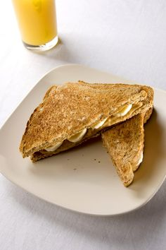 Grilled Peanut Butter and Banana Sandwich Recipe