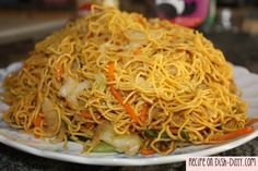 Vegetable Chow Mien
