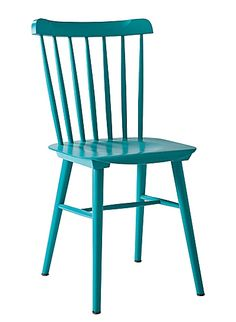 Turquoise Tucker Chair