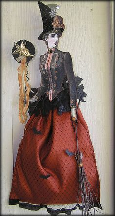 A Victorian Witch by Iva's Creations,