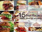 15 Best Burgers from Diners, Drive-Ins and Dives