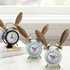 The Emily + Meritt Bunny Alarm Clock | PBteen