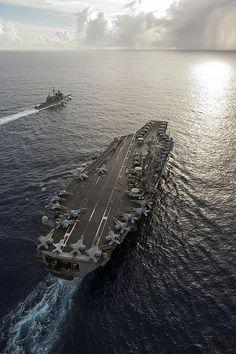 USS George Washington - Nimitz class aircraft carrier