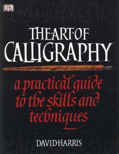 Libro de David Harris, sobre caligrafía