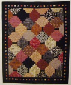 Courthouse steps from Chicago Quilt Show class