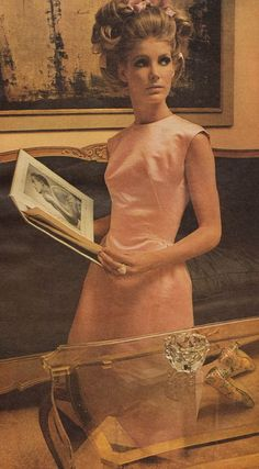 Pauline Trigere fashion 1965