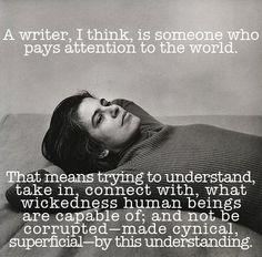 Susan Sontag - writer definition.