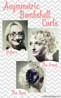 Love finding curly styles that don't make those with short hair look like Shirley Temple.