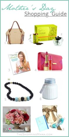 Mother's Day Shopping Guide -  Last Minute Gift Ideas