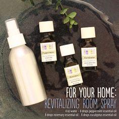 Revitalizing room spray recipe