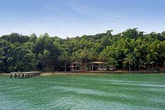 Schooner to Green Lake #IlhaGrande, #Brazil green lake, lake ilhagrand