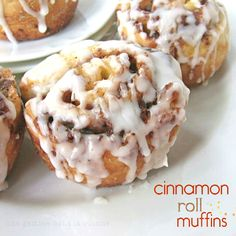 Cinnamon roll muffins   une Gamine dans la Cuisine