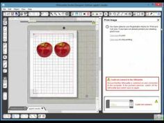 Silhouette Cameo Tracing a.jpeg for Print and Cut in Silhouette Studio - YouTube