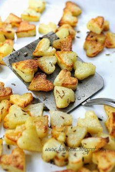 Roasted Potato Hearts [Valentine's Day Dinner]