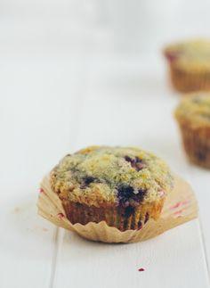 blackberry orange muffins <3