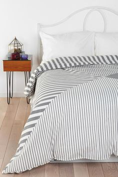 Assembly Home Quadrant Duvet Cover  I want my small space to be AWESOME. I entered the #UrbanOutfitters Pin A Room, Win A Room Sweepstakes! #smallspace