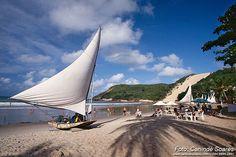 Praia de Ponta Negra - Natal-RN -  Brasil