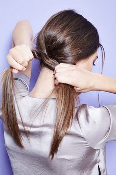 5 easy, beautiful hair DIYs to upgrade your ponytail