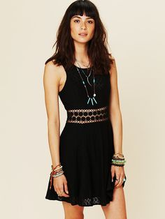 Fitted With Daisies Dress | Free People