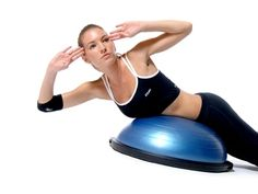 Bosu Ball! My new fav!!!!