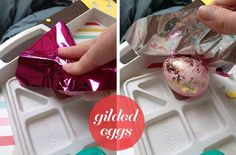gorgeous easter eggs....a must try!